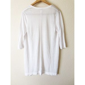 Chico's Sweaters - Chico's white cardigan size 1
